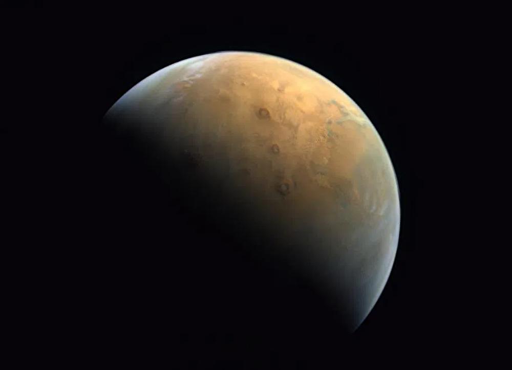 Kızıl Gezegen'den 'Umut' fotoğrafı