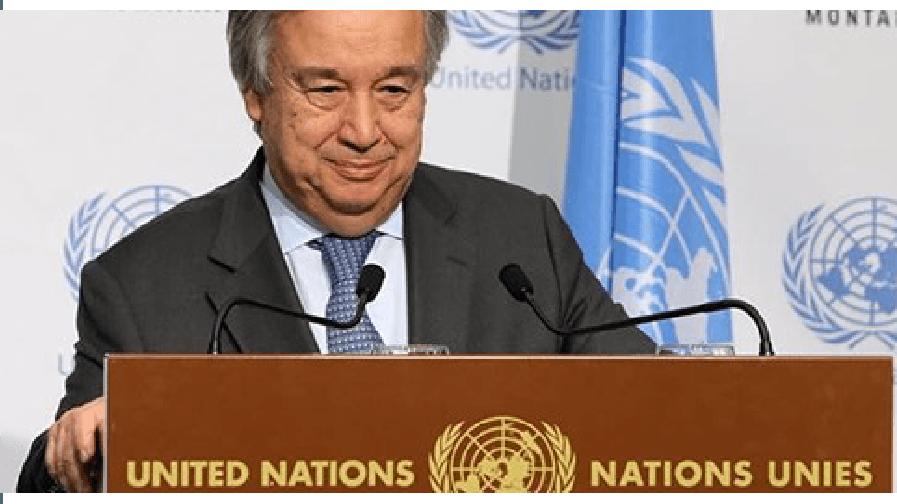 Taraflar Guterres'ten tarih bekliyor