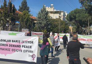 Lute'u Ledra'da eylemciler karşıladı