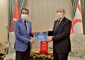 Tatar kurban bağışını Türkiye Diyanet Vakfı'na yaptı