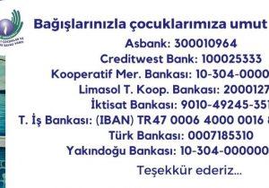 Kurban bağışları Kemal Saraçoğlu Vakfı'na