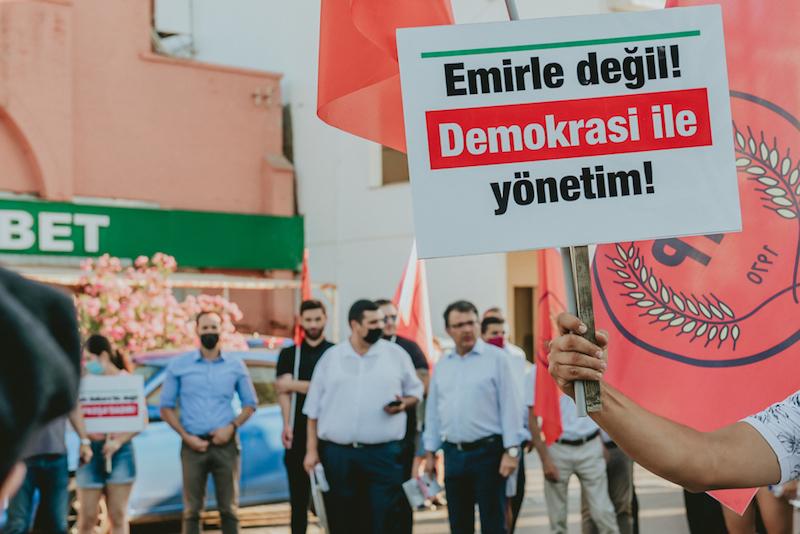 """CTP'den, """"TC'nin müdahalesiyle seçtirilen Tatar'a"""" cevap"""