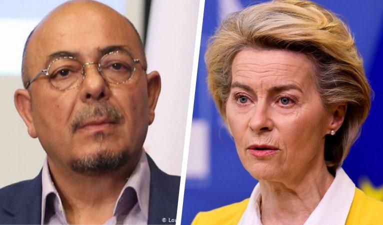 Ursula von der Leyen'den Kızılyürek'e: AB federasyon konusunda ısrarcıdır