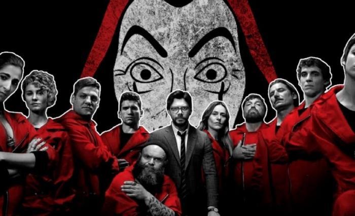 La Casa de Papel final sezonu izleyici ile buluştu