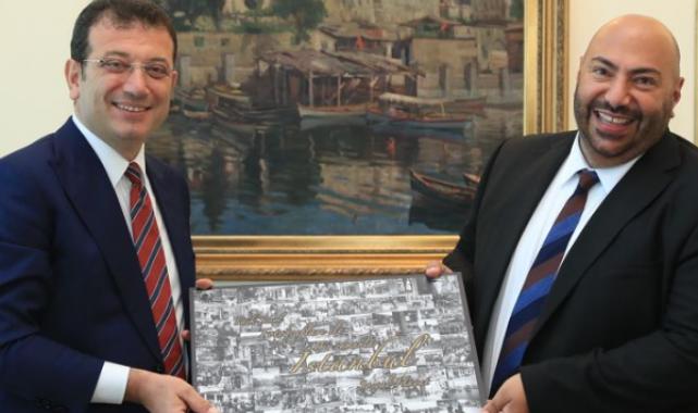 İngiltere'nin İstanbul Başkonsolosu Kenan Poleo, İBB Başkanı Ekrem İmamoğlu'nu ziyaret etti