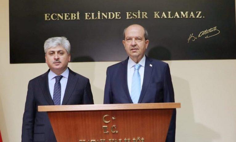 Tatar Hatay'dan bildirdi: Kıbrıslı yoktur, Türk-Rum vardır