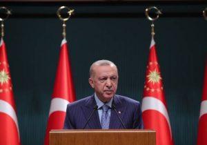 Erdoğan'dan geri vites: Niyetimiz kriz çıkarmak değil