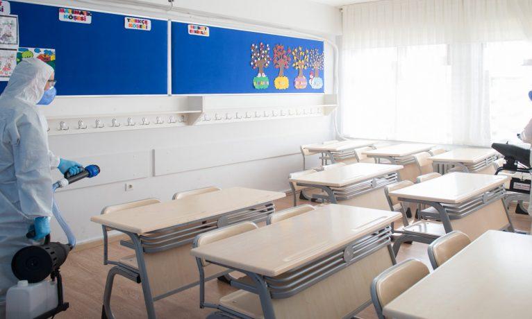 Okullarda bu hafta 274 öğrenci, 16 öğretmen ve 5 personel pozitif